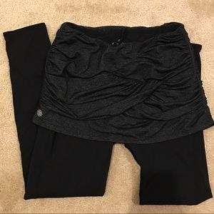 Athleta skirt/legging combo